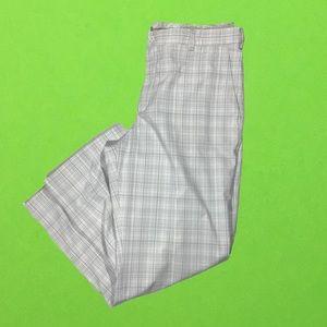 Nike plaid golf pants men's size 36
